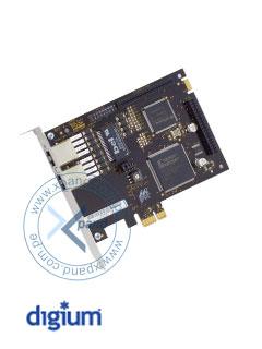 TARJETA PCIE DIGIUM 2PRT E1/T1 Tarjeta Digium TE220P PCI Express con 2 Puertos T1/E1