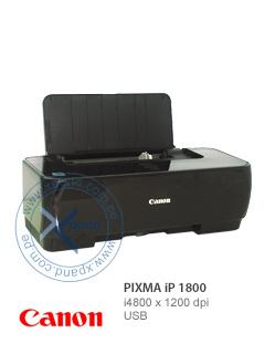 Impresora Canon Pixma IP 1800, 4800x1200 dpi, USB, Sistema Chromalife 100, Calidad de